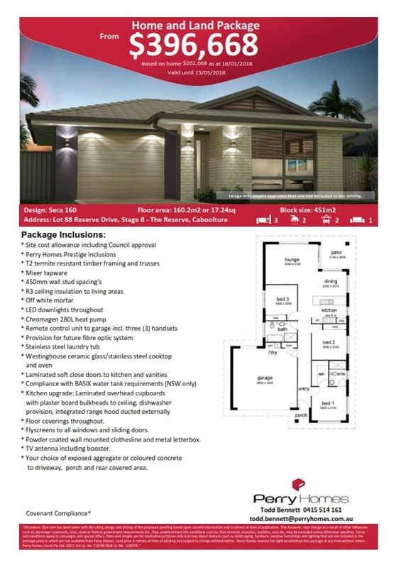 Lot 88 Reserve Drive, Stage 8 The Reserve, Caboolture QLD 4510, Image 1