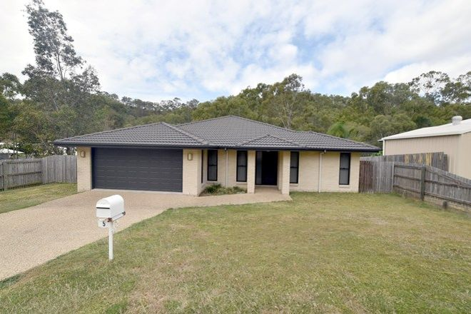Picture of 5 Munroe Court, WEST GLADSTONE QLD 4680