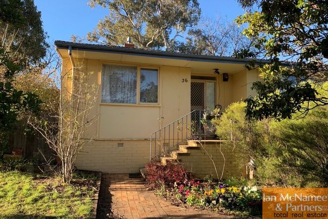 Picture of 36 Waller Crescent, CAMPBELL ACT 2612