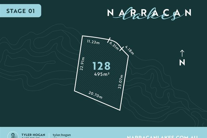 Picture of Lot 128 Narracan Lakes, NEWBOROUGH VIC 3825