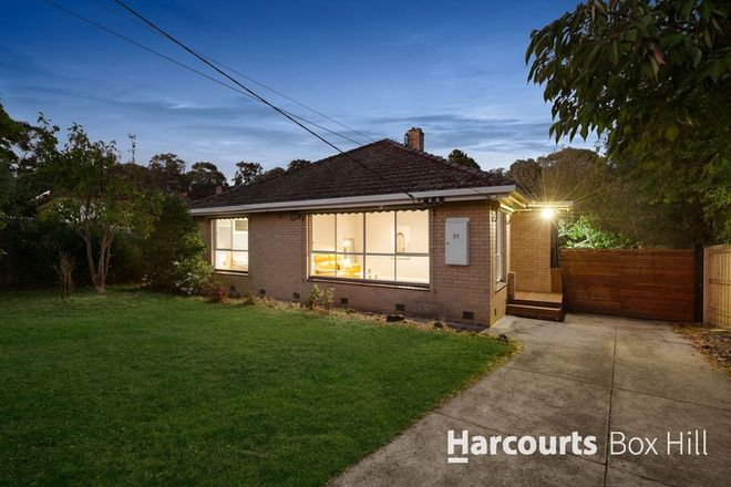 Picture of 35 Roberts Avenue, BOX HILL SOUTH VIC 3128