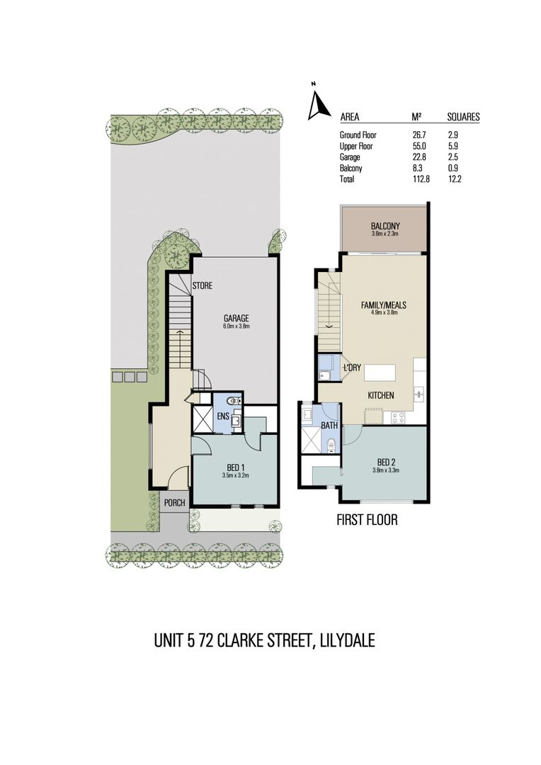 Unit 4, 5, 7/72 Clarke Street, Lilydale VIC 3140, Image 2