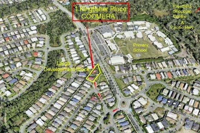 Picture of 1 Kingfisher Place, COOMERA QLD 4209