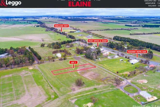 Picture of Lot 7 Pearsons Road, ELAINE VIC 3334