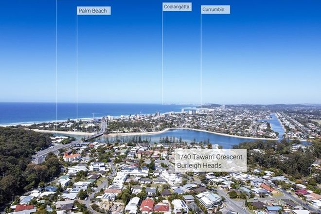 Picture of Unit 1/40 Tawarri Cres, BURLEIGH HEADS QLD 4220