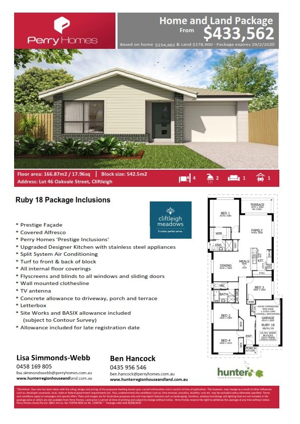 Lot 46 Oakvale Street, Cliftleigh NSW 2321, Image 1