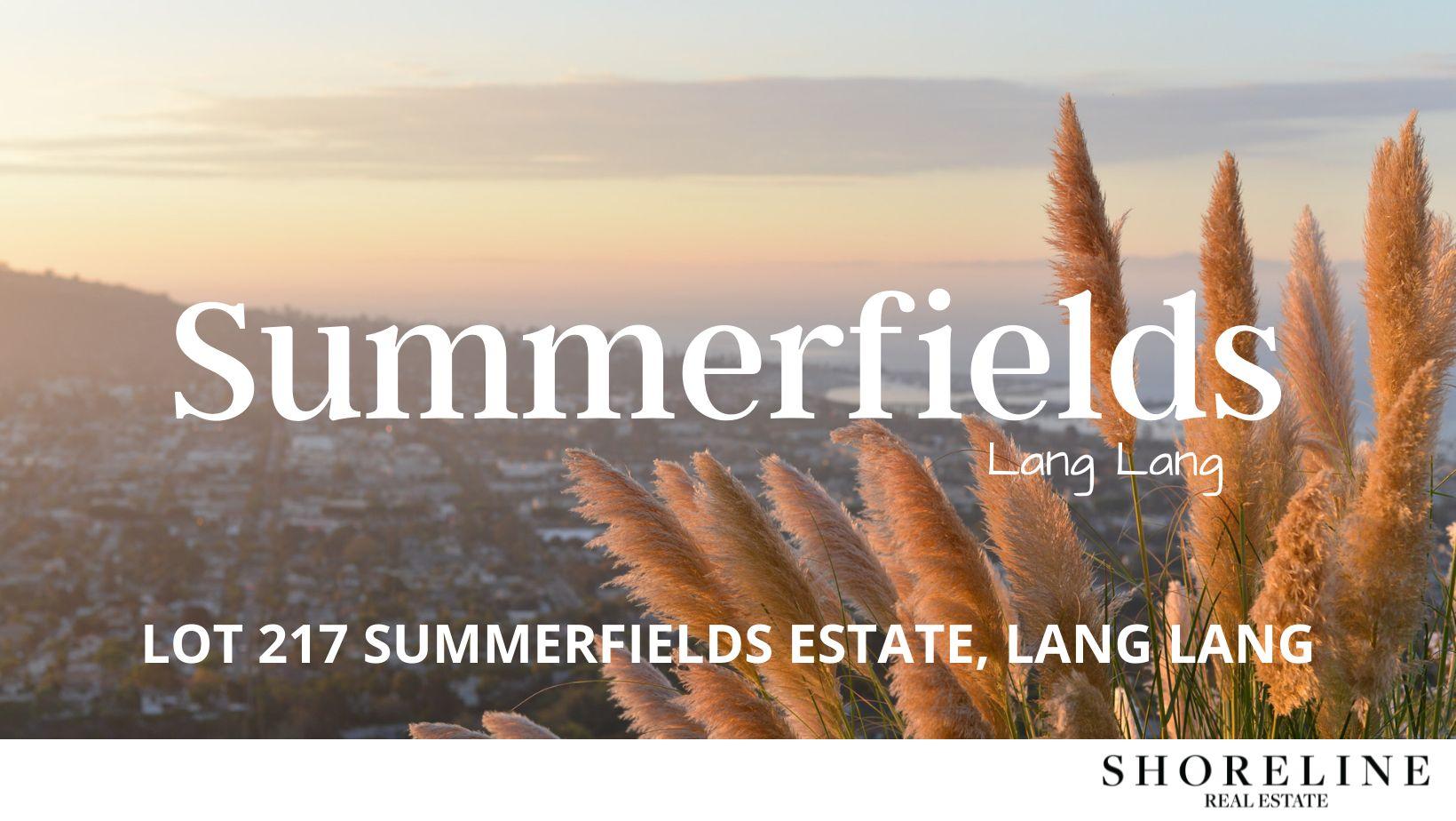 Lot 217 Summerfields Estate, Lang Lang VIC 3984, Image 0