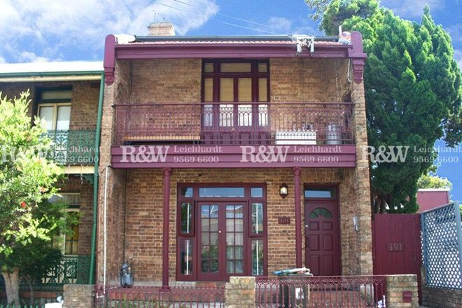 Picture of 2/191 Marion Street, LEICHHARDT NSW 2040