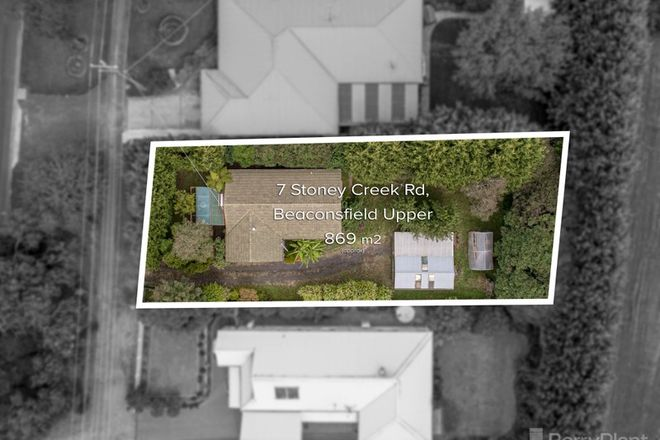 Picture of 7 Stoney Creek Road, BEACONSFIELD UPPER VIC 3808