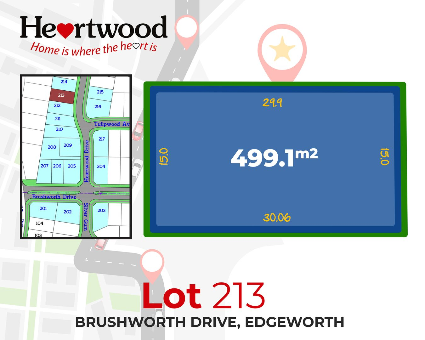 Lot 213 Heartwood Drive, Edgeworth NSW 2285, Image 1
