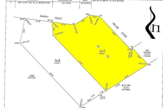Picture of Lot 149 Barry Court, COLLINGWOOD PARK WA 6330