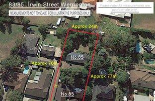 83 & 85 Irwin Street, Werrington NSW 2747