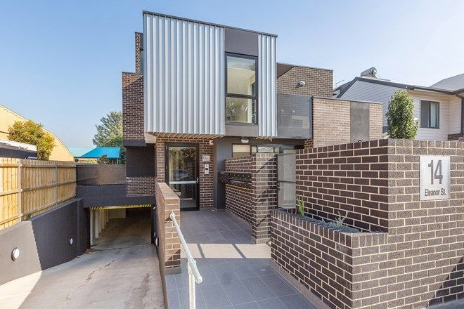 Picture of 201/14 Eleanor Street, FOOTSCRAY VIC 3011