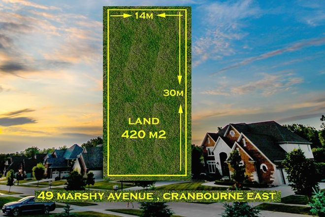Picture of 49 Marshy  Avenue, CRANBOURNE EAST VIC 3977