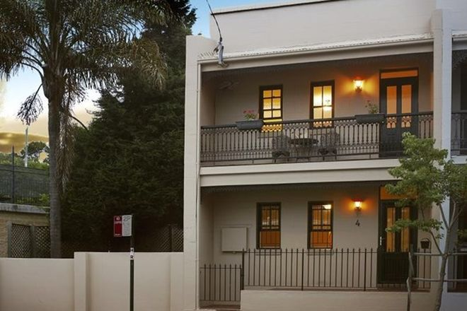 Picture of 4 BURTON STREET, GLEBE NSW 2037