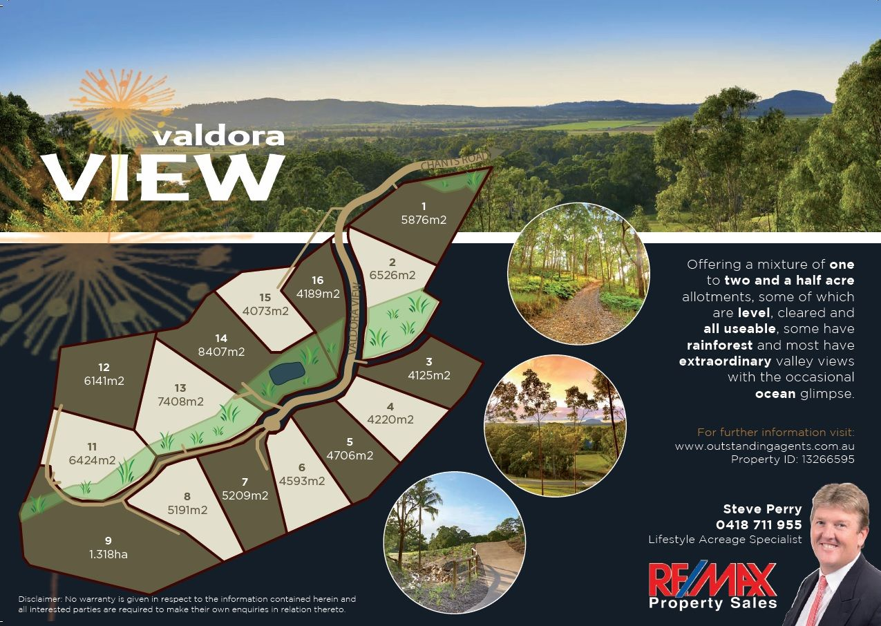 Lot 9 Valdora View (off Chants Road), Valdora QLD 4561, Image 1