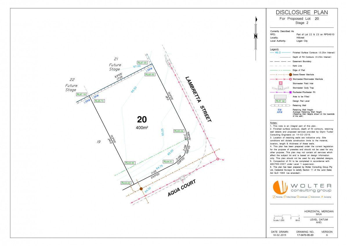Lot 20/2 Aqua Court, Hillcrest QLD 4118, Image 1