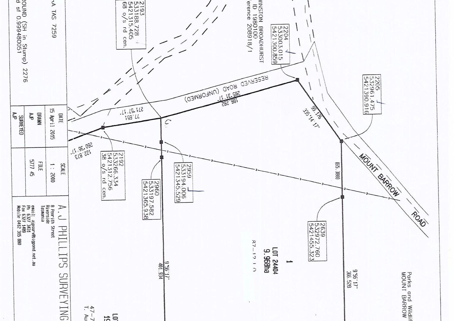 Lot 1/600 Mount Barrow Rd, Nunamara TAS 7259, Image 2
