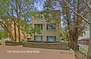 Picture of 7/81 Anzac Avenue, West Ryde NSW 2114