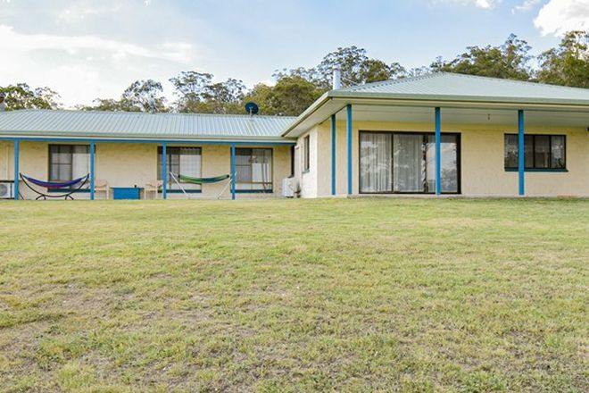 Picture of 132 Wright Road, MOUNT TABOR QLD 4370