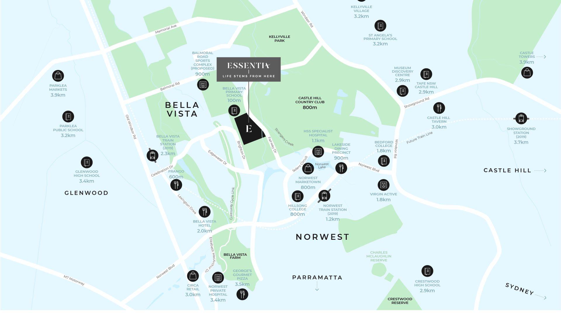 Lot 112 Fairway Drive, Bella Vista NSW 2153, Image 2