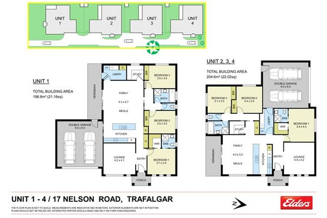 Picture of 1-4/17 NELSON ROAD, TRAFALGAR VIC 3824