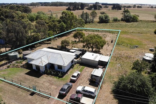 Picture of 63 Manifold Street, WOOLSTHORPE VIC 3276