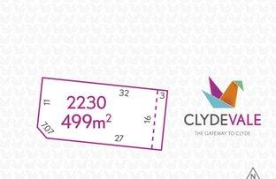 Lot 2230 Pygora Way, Clyde North VIC 3978