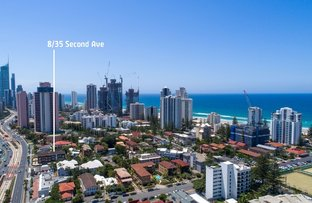 Picture of 8/35 Second Avenue, Broadbeach QLD 4218