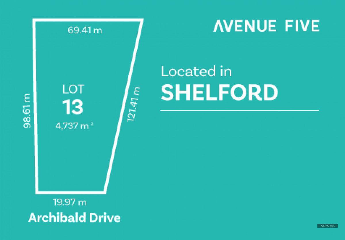 Lot 13 Archibold Drive, Shelford VIC 3329, Image 0