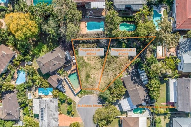 Picture of Lot1 & Lot2,14 St Albans Street, KENMORE QLD 4069