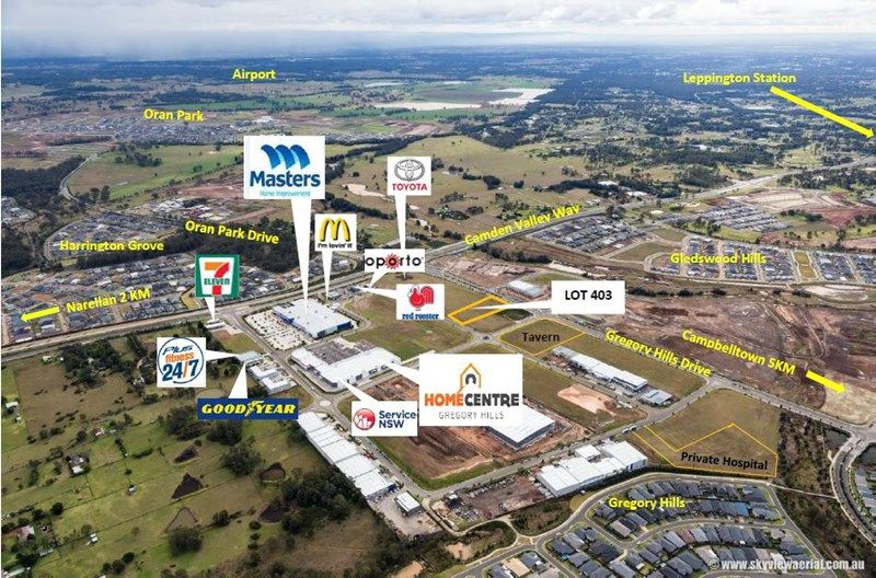Lot 1517, Gregory Hills NSW 2557, Image 2