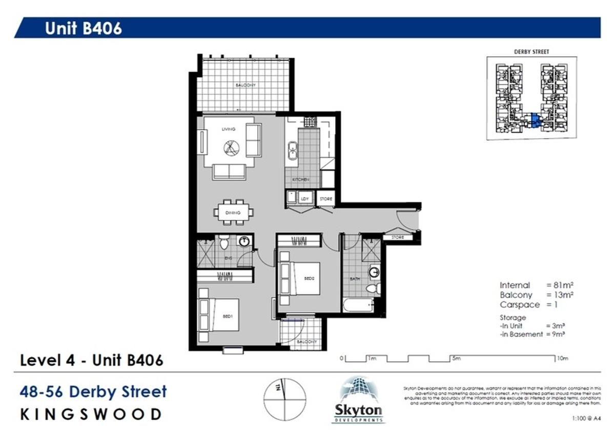 B406/48-56 Derby Street, Kingswood NSW 2747, Image 1