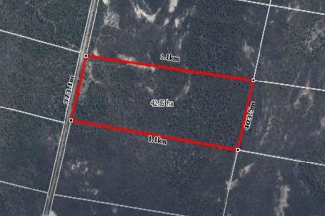 Picture of Lot 39 Wains Road, WIEAMBILLA QLD 4413