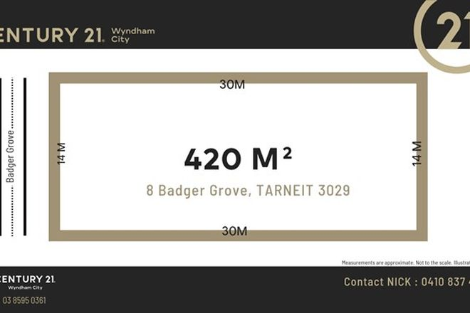 Picture of 8 Badger Grove, TARNEIT VIC 3029