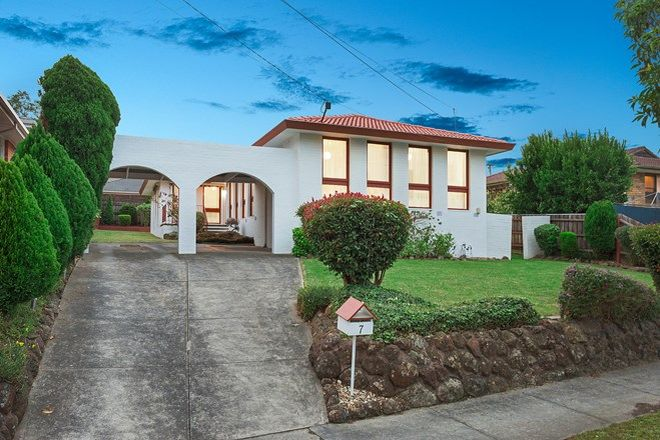 Picture of 7 Whittenoom Street, DONCASTER EAST VIC 3109