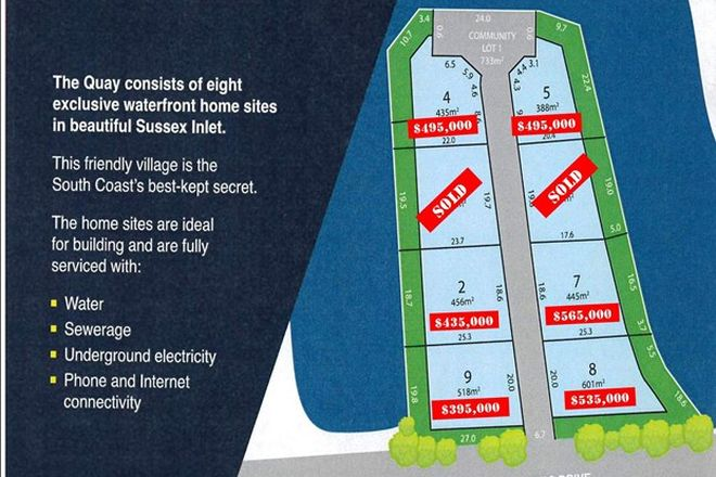 Picture of Lot 123 Jacobs Drive, SUSSEX INLET NSW 2540