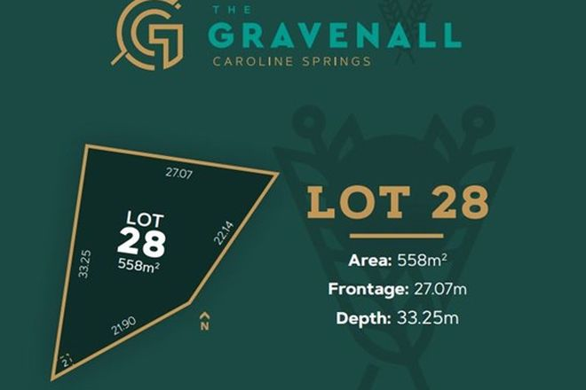 Picture of Lot 28 Taylors Road, CAROLINE SPRINGS VIC 3023