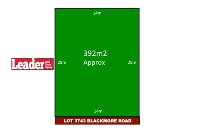 Picture of Lot 3743 Blackmore Road, MICKLEHAM VIC 3064