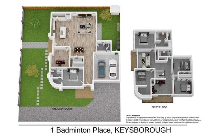 Picture of 1-3 Badminton Place, KEYSBOROUGH VIC 3173