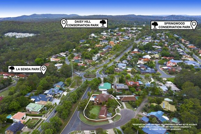 Picture of 4 Aerie Court, SPRINGWOOD QLD 4127