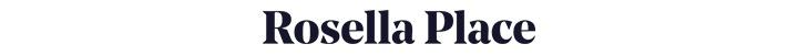 Branding for Rosella Place
