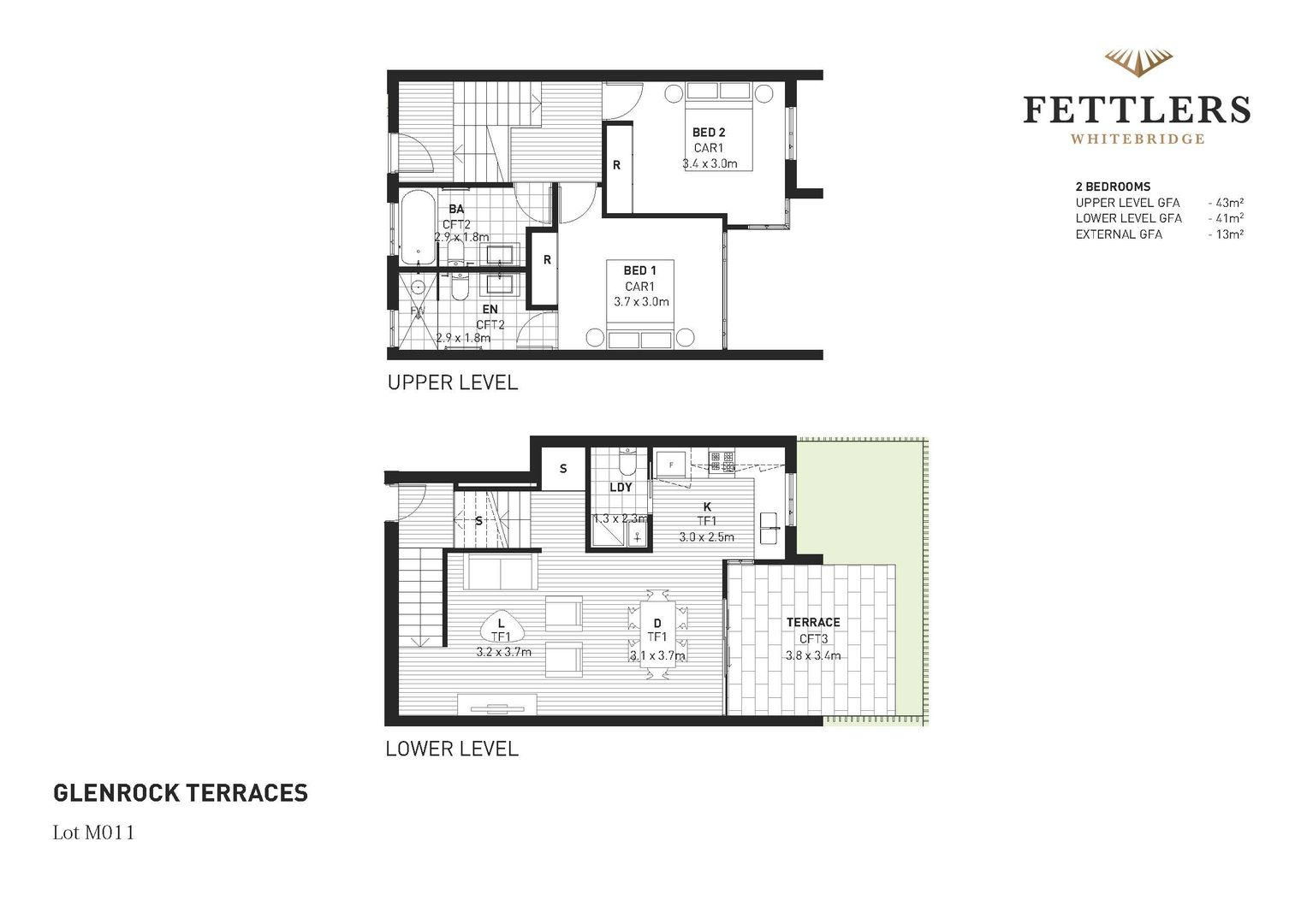 Fettlers Townhouses, Whitebridge NSW 2290, Image 2