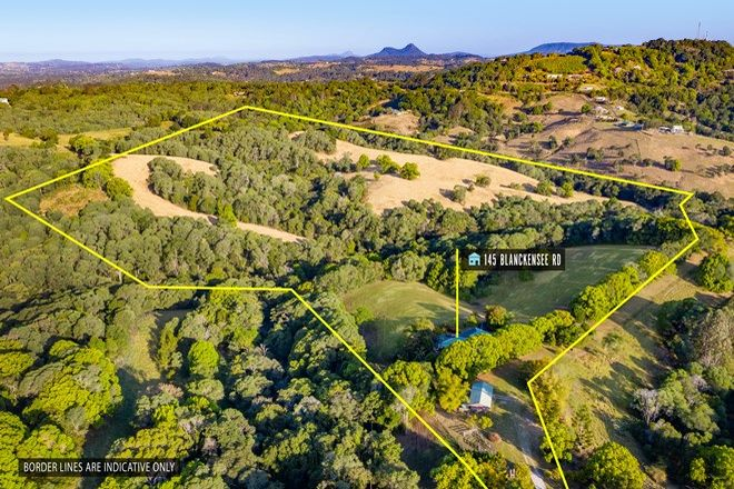 Picture of 145 Blanckensee Road, BLACK MOUNTAIN QLD 4563