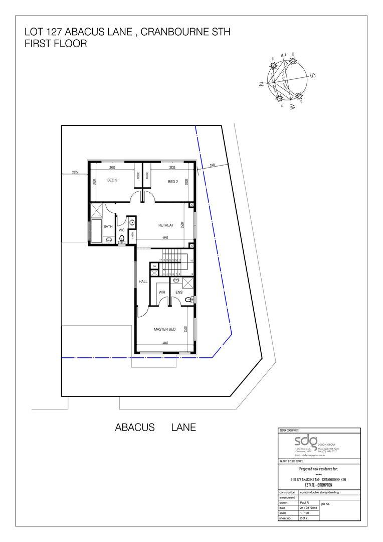 1 Abacus Lane LOT 127 BROMPTON ESTATE, Cranbourne South VIC 3977, Image 2