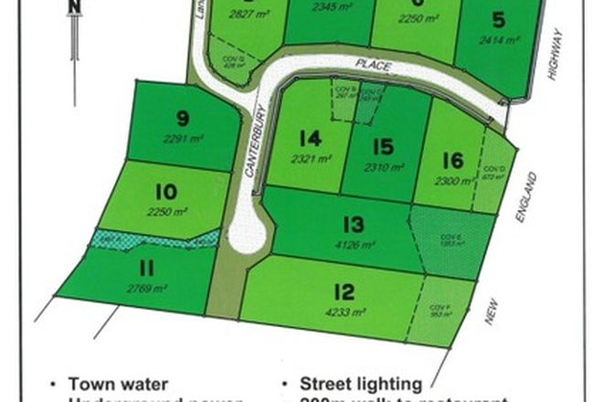 Picture of Lot 11 Canterbury Place, HAMPTON QLD 4352