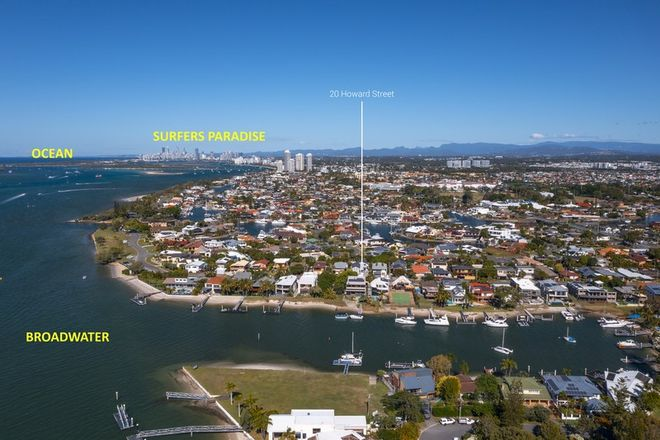 Picture of 1 & 2/20 Howard Street, RUNAWAY BAY QLD 4216