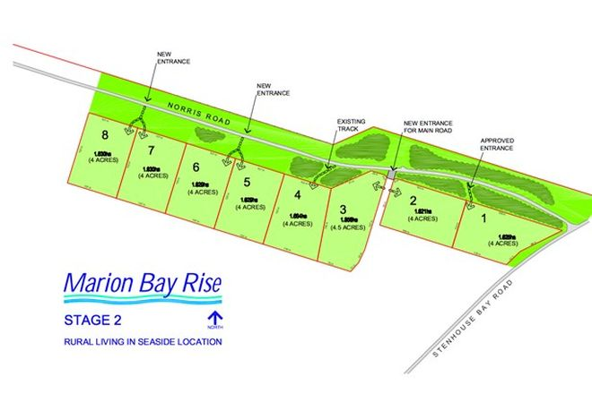 Picture of Norris Road, MARION BAY SA 5575