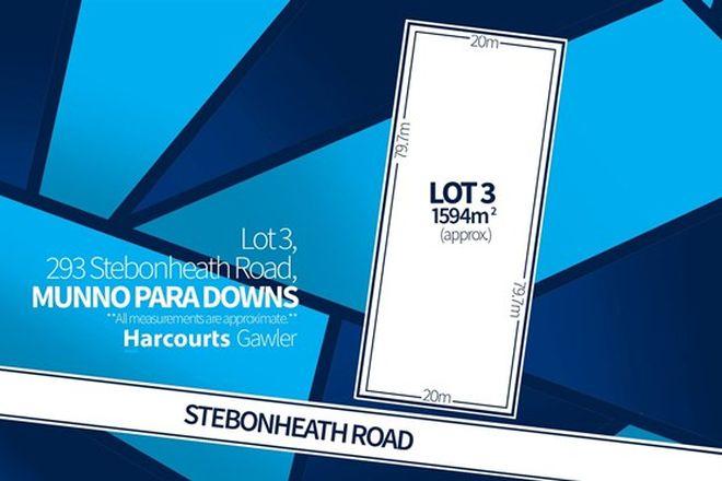 Picture of Lot 3 Stebonheath Road, MUNNO PARA DOWNS SA 5115