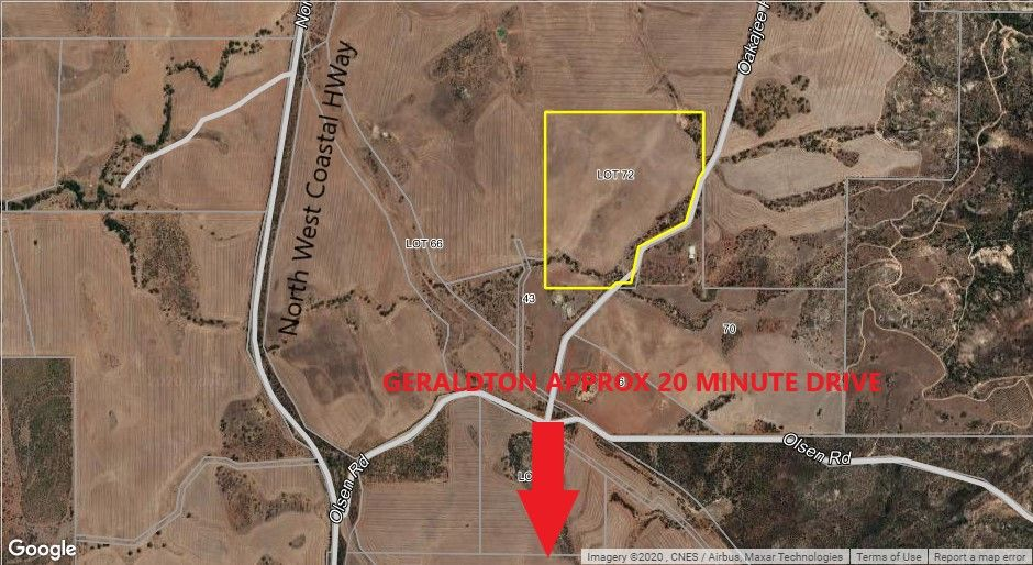 Lot 72 Oakajee Road, Howatharra WA 6532, Image 0